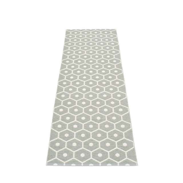 Tapis Plastique Pappelina Honey Gris