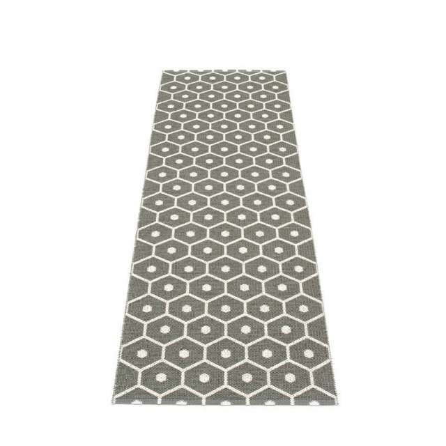 Tapis Plastique Pappelina Honey Charcoal