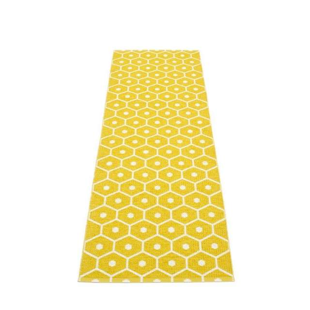 Tapis Plastique Pappelina Honey Moutarde