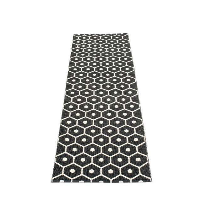 Tapis Plastique Pappelina Honey Noir
