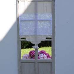 Brise Bise Lin Bicolore Lys - Déco de Charme Maison