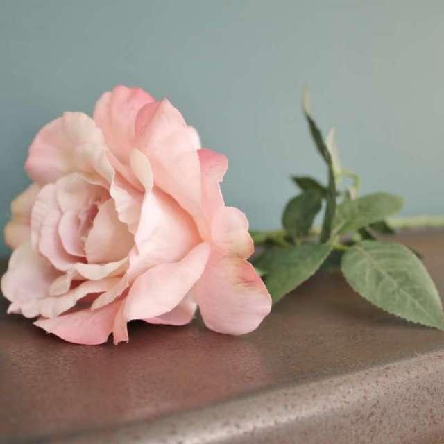 Rose Artificielle Vintage Shabby Chic
