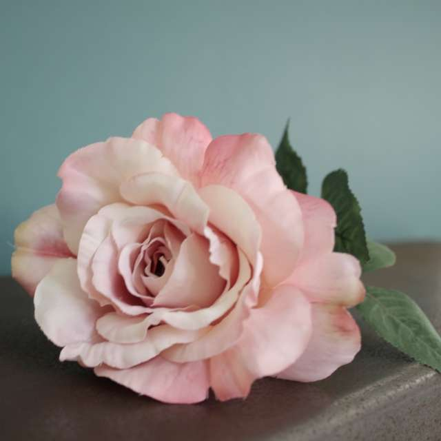 Rose Artificielle Shabby Chic ambiance Vintage