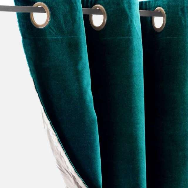 Rideau Velours Vert