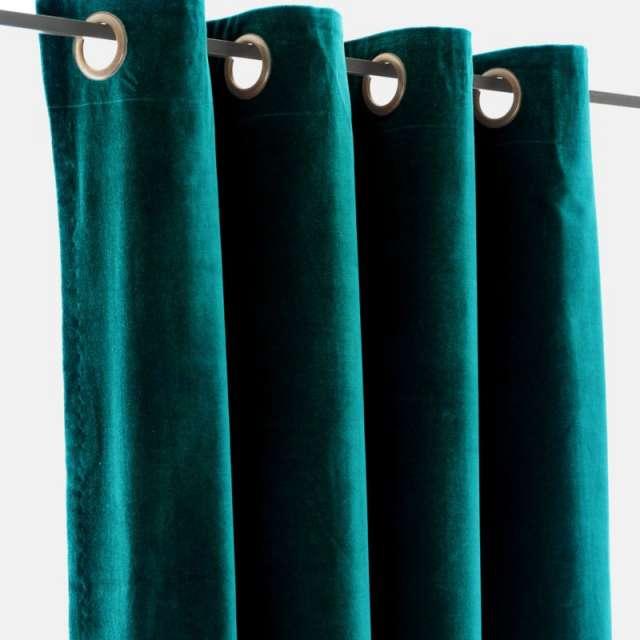 rideaux velours vert en vente dans la boutique en ligne. Black Bedroom Furniture Sets. Home Design Ideas