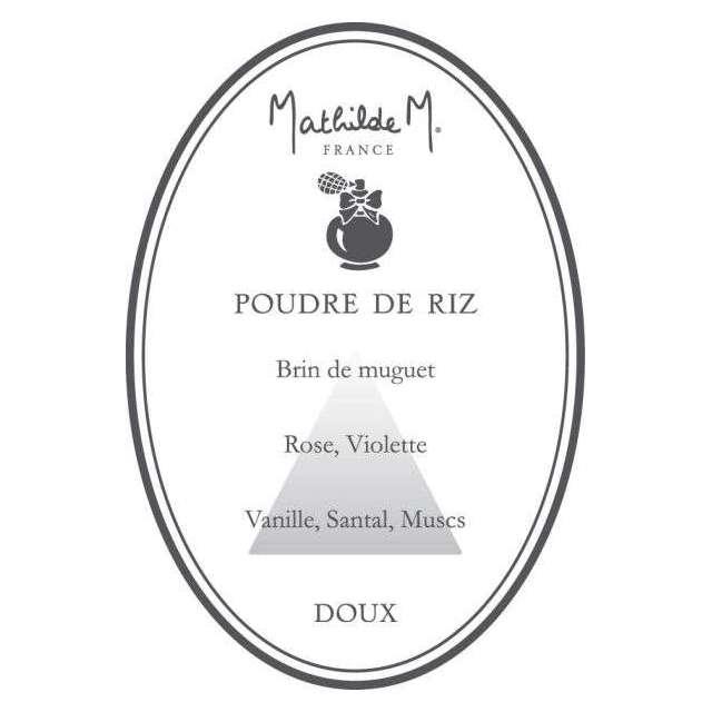 Pompon à suspendre Mathilde M poudre de riz