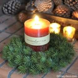 Couronne de Sapin Ambiance Noël