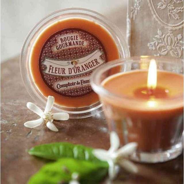 Bougie parfumée Fleur oranger