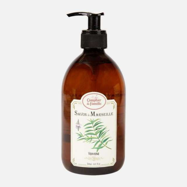 Savon liquide Comptoir de Famille parfums Verveine