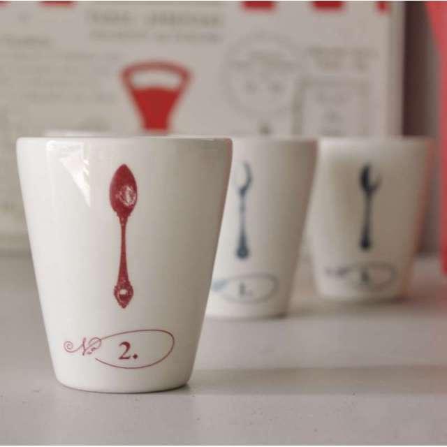 4 Tasses expresso Comptoir de Famille Vaisselle Cosy
