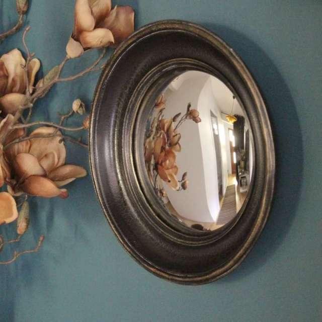 Les Miroirs Sorcière bois noir tailles au choix