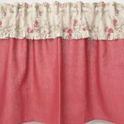 Rideau sous-evier sur-mesure fleuri style Anglais