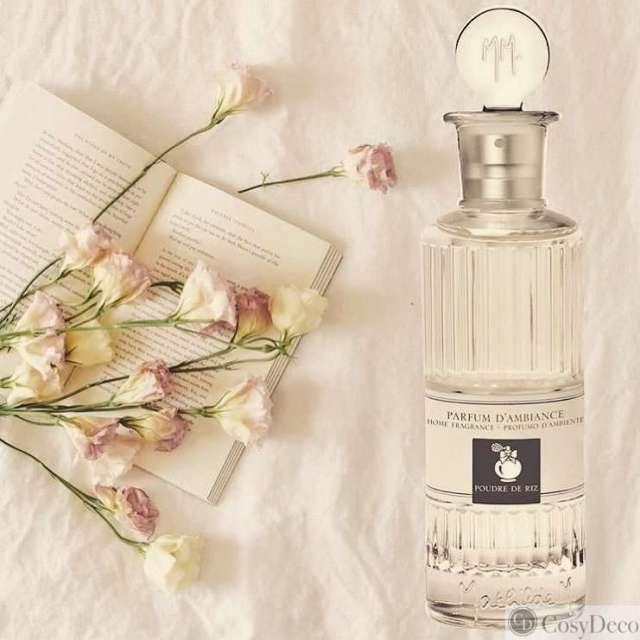 Parfum d'ambiance poudre de riz mathilde M