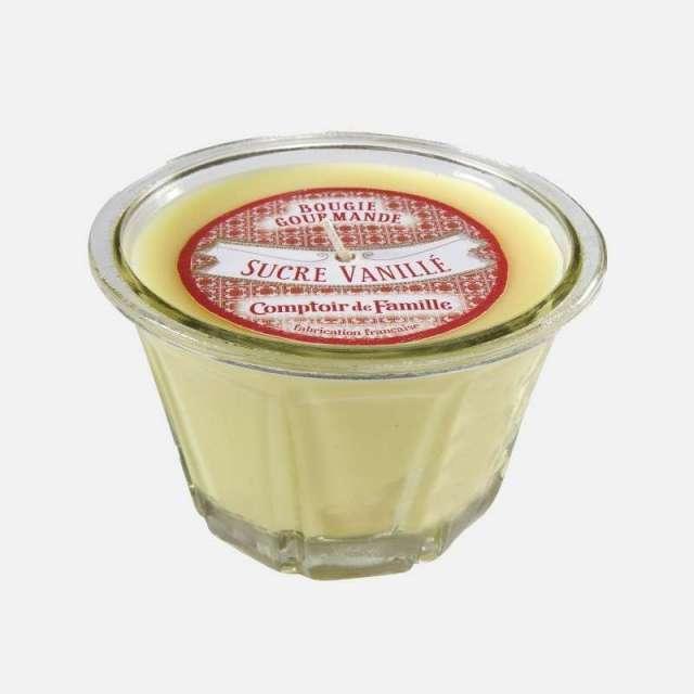Bougie Parfum Sucre Vanillé Comptoir de Famille