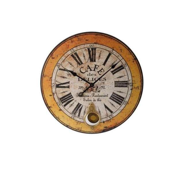 Grande Horloge à balancier Vintage deco