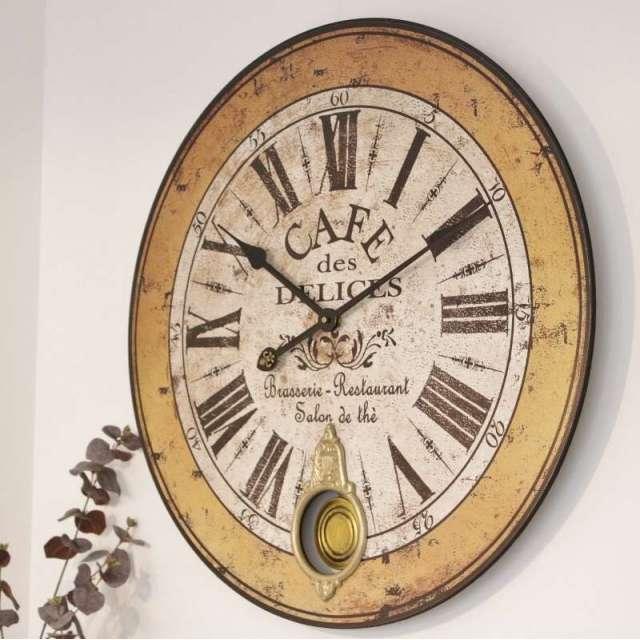 Grande Horloge à balancier Vintage