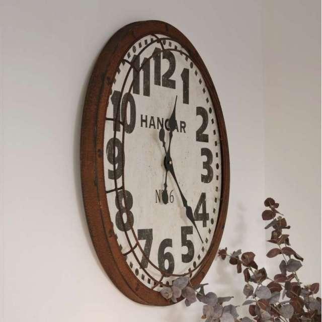 Horloge Métal style Industriel