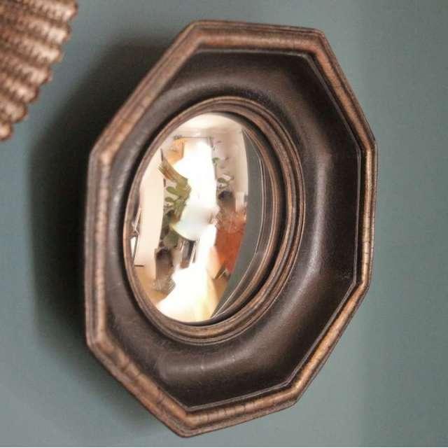 Miroir Sorcière convexe octogonal Chehoma