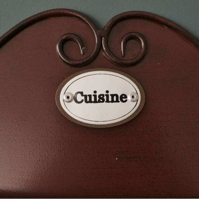Dérouleur papier Cuisine Rustique