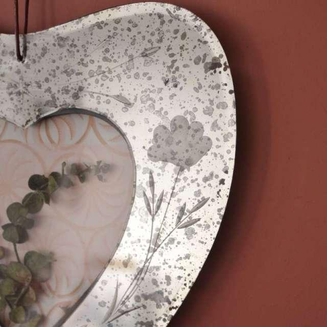 Cadre Photo Coeur Vénitien Mercurisé