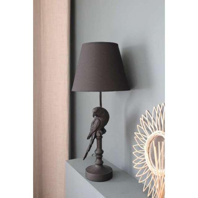 Lampe Perroquet Noir Chehoma
