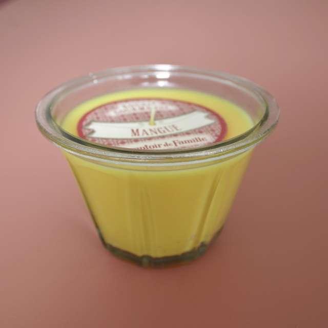 Bougie Gourmande parfumée Mangue Comptoir de Famille