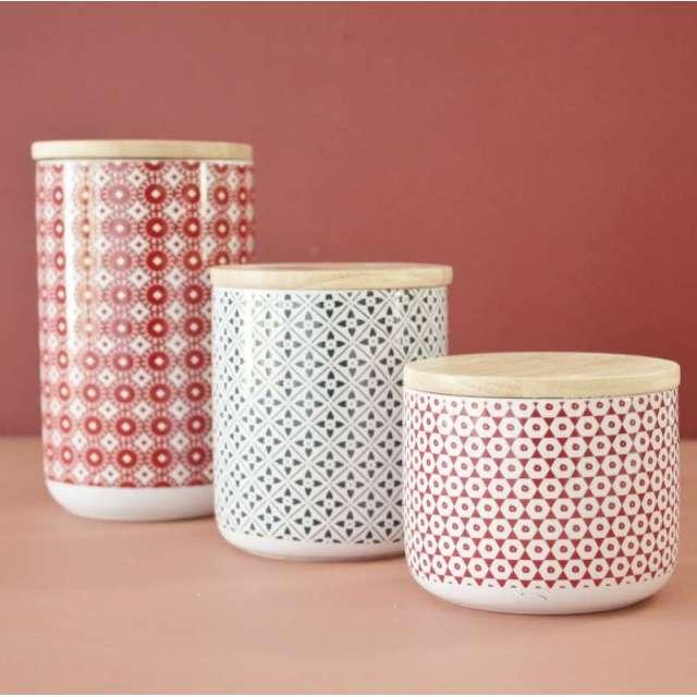 Serie de Pots de cuisine Lison Comptoir de Famille