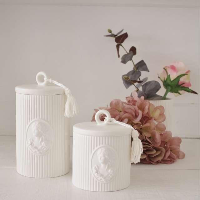 2 Pots à Coton Mathilde M Marquise