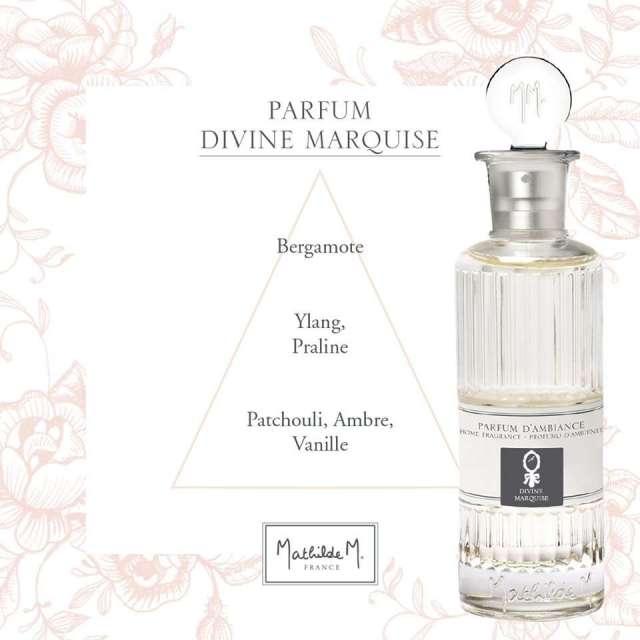 Divine Marquise Diffuseur Parfum Mathilde M senteurs