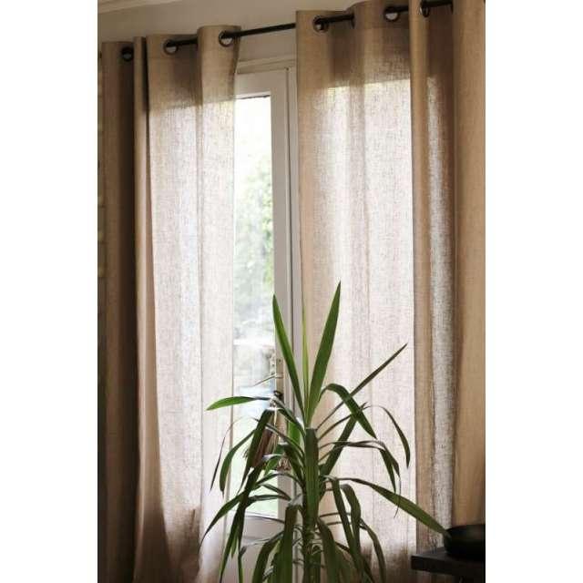 Long rideau Lin sur-mesure