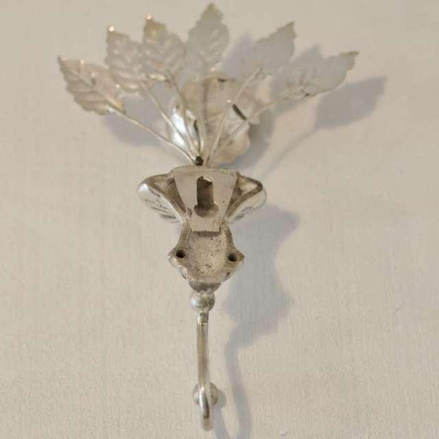 Patère Crochet Romantique métal argenté