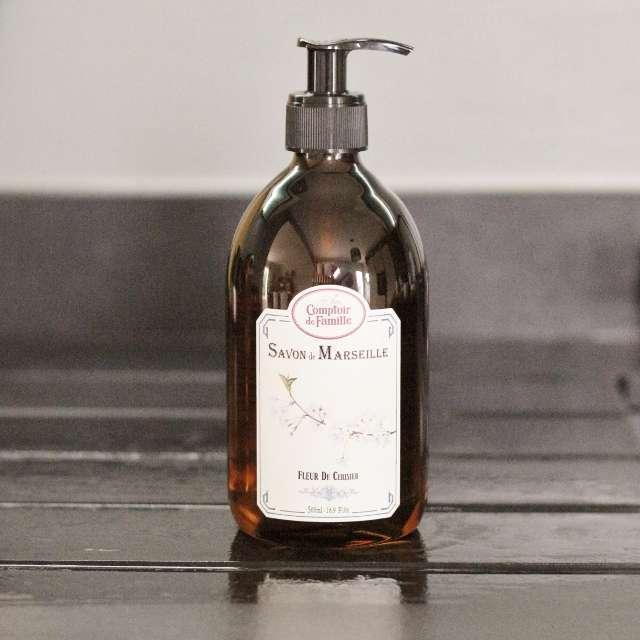 Savon liquide Comptoir de Famille parfums aux choix