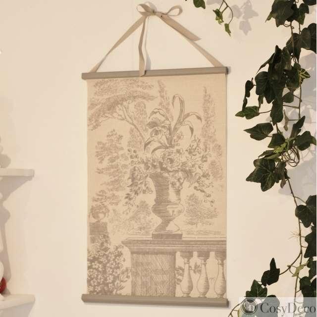 Tableau toile à suspendre Mathilde M Décoration bouquet
