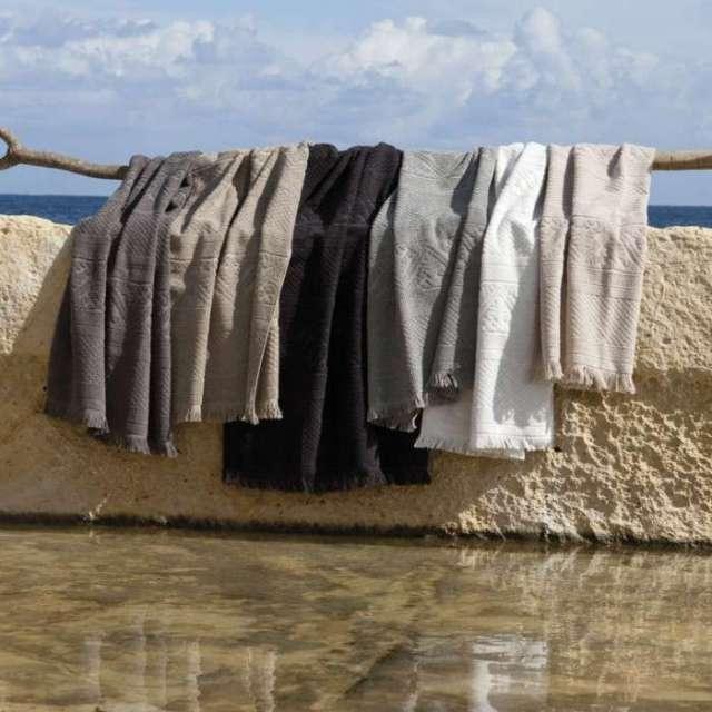 Drap de bain Hammam Gris Orage