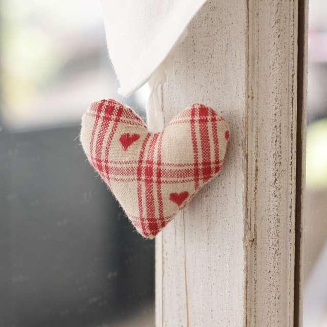 Petit rideau Coeur