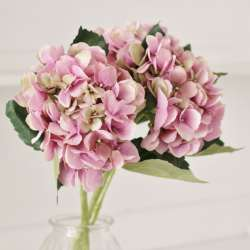 Hortensia Artificiel Rose