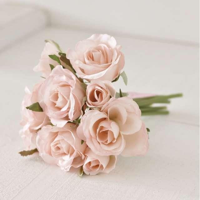 Bouquet Roses Shabby Romantique