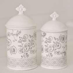 2 Pots à Coton Mathilde M Cosy Chic