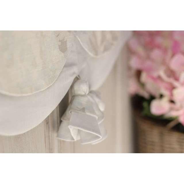 Cantonniere Fleurie style Shabby Romantique