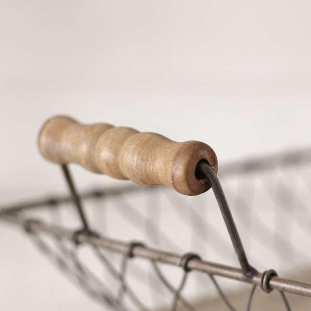 Panière métal Grillage Rectangulaire