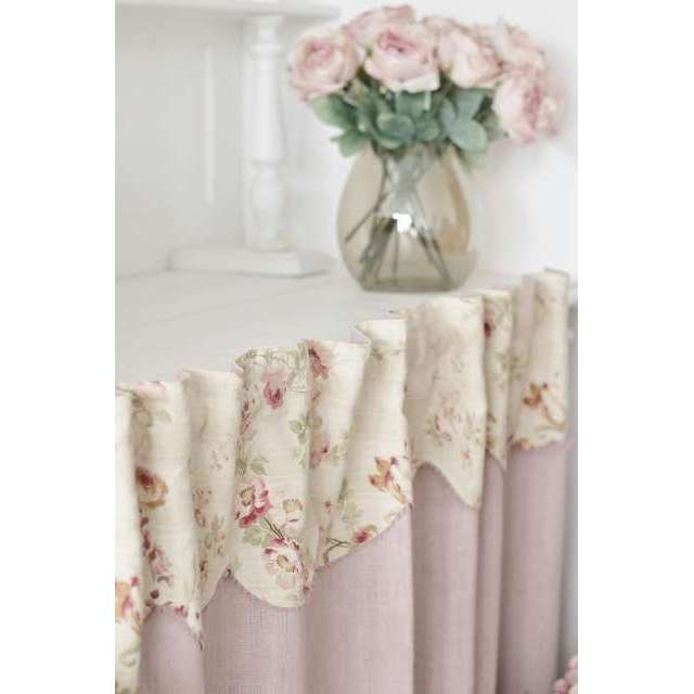 Rideau sous-evier Shabby-Chic