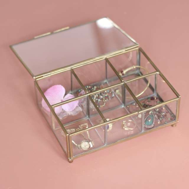 Boîte à Bijoux compartiments chic et cosy Chehoma