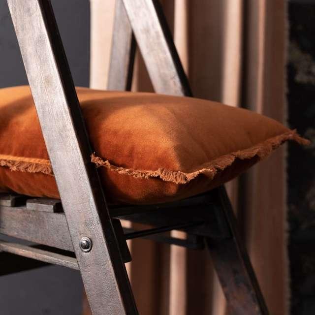 Coussin Velours frangé Rectangulaire 40x65