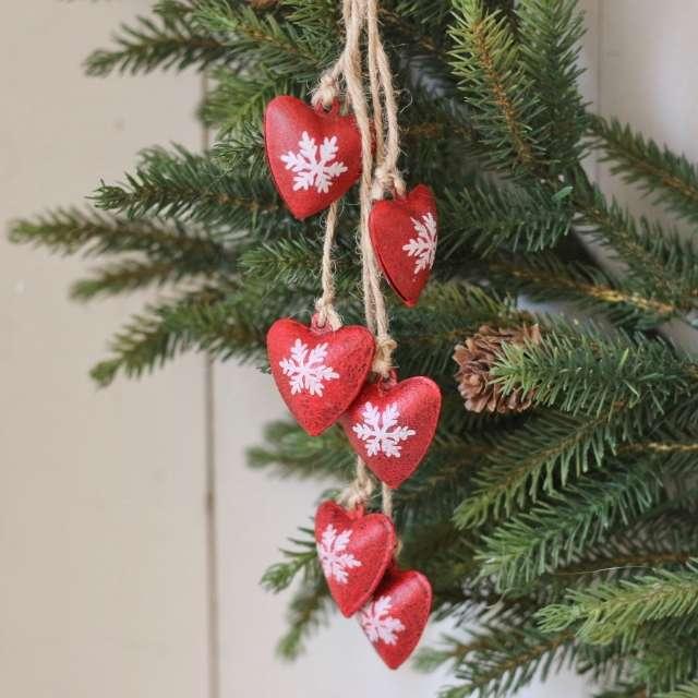 Guirlande Ambiance Noël Coeurs