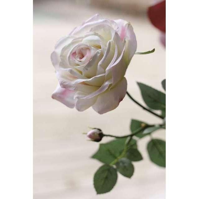 Rose Artificielle blanche Décoration Romantique