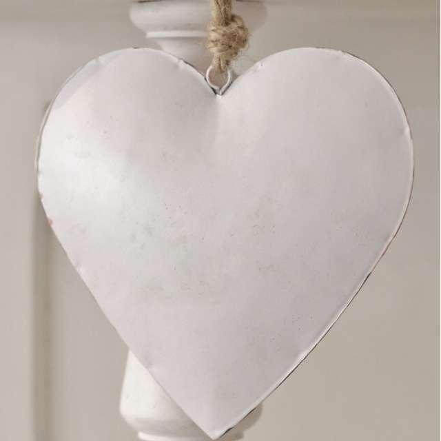 Coeur Métal Shabby Chic