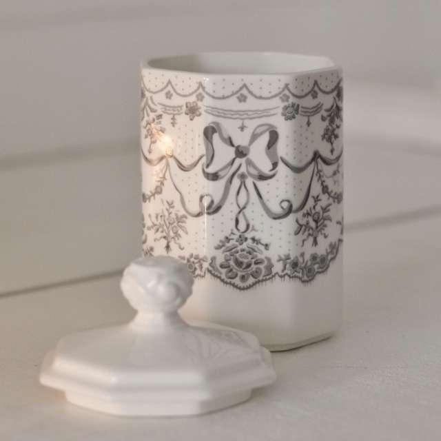 Pot à coton Romantique Mathilde M Aquarelle