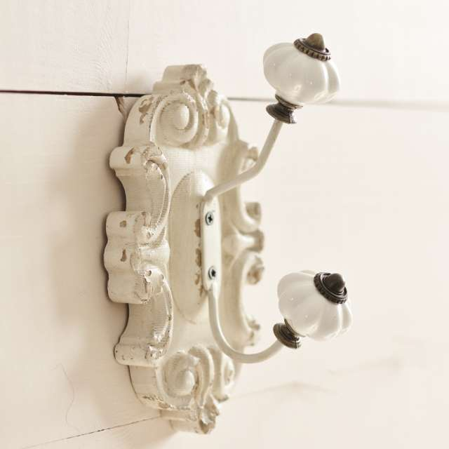 Crochet Shabby Chic Blanc
