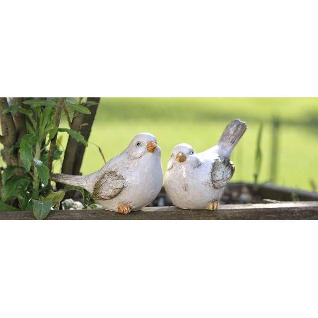 Oiseaux Résine Déco Jardin Ambiance Romantique