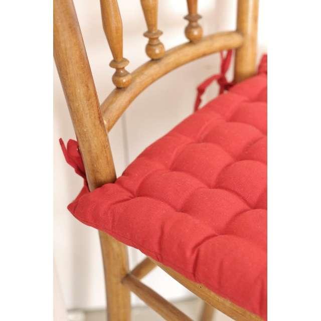 Galette de chaise Coton